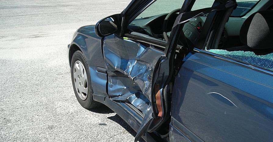 Broken car removal